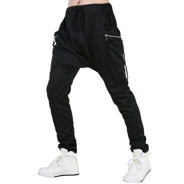 Mens trendy cotton pants