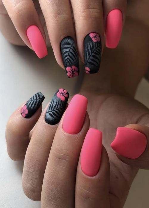Fearless stiletto nail art designs