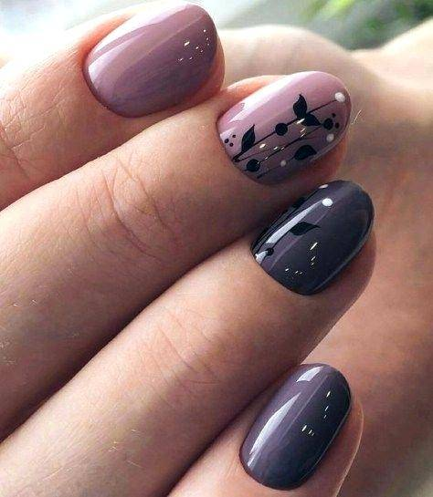 cute gel nails for fall fitnailslover