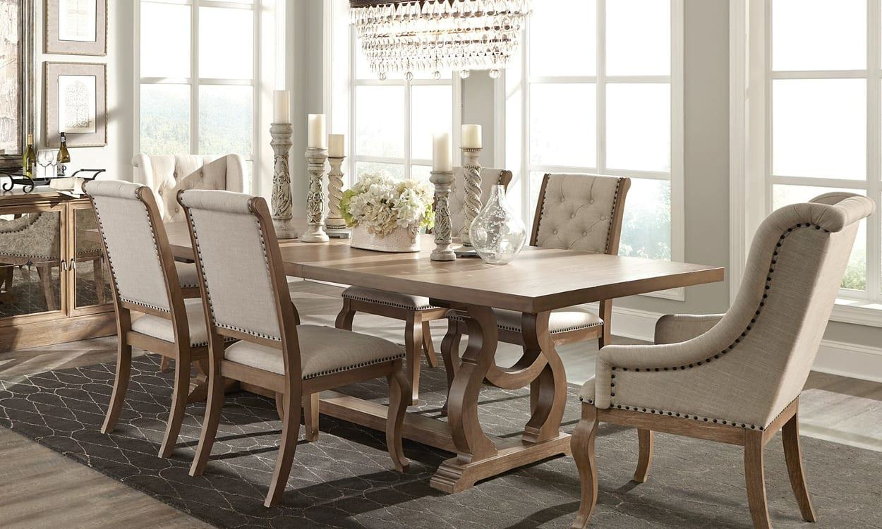 Image The Barrington table is the best large expanding table Wirecutter found for less than $700