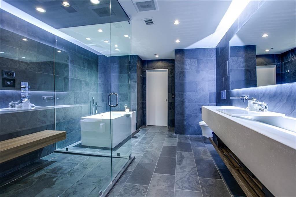 Light blue bathroom decor like the idea of color for the power room