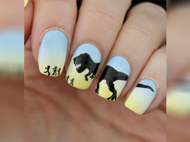 Unique Beautiful Nail Art Designs (22)