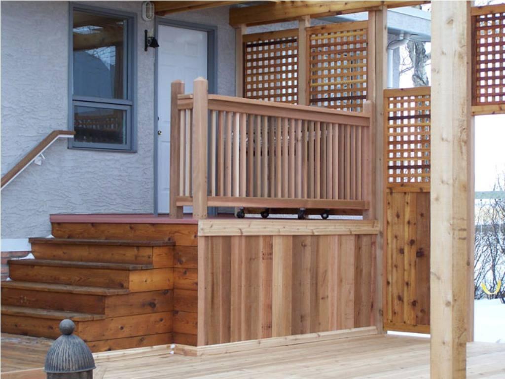 designs for deck railings