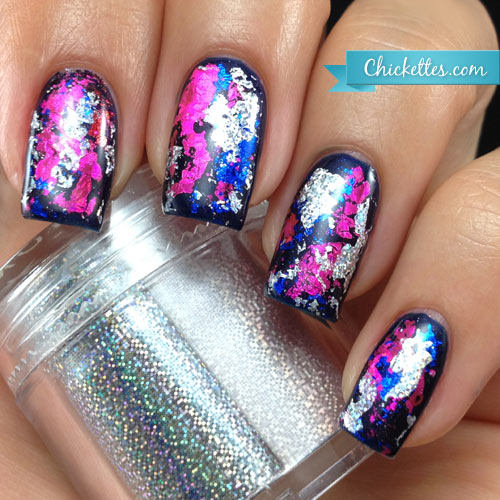 Ellwings Transparent Nail Foil Gel Starry Sky Transfer Paper Clear Gel  Need To Use With Foil