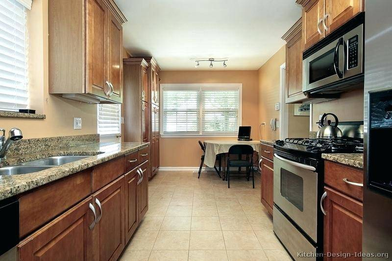 kitchen design ideas for medium kitchens small galley kitchens pictures of kitchens traditional medium wood cabinets
