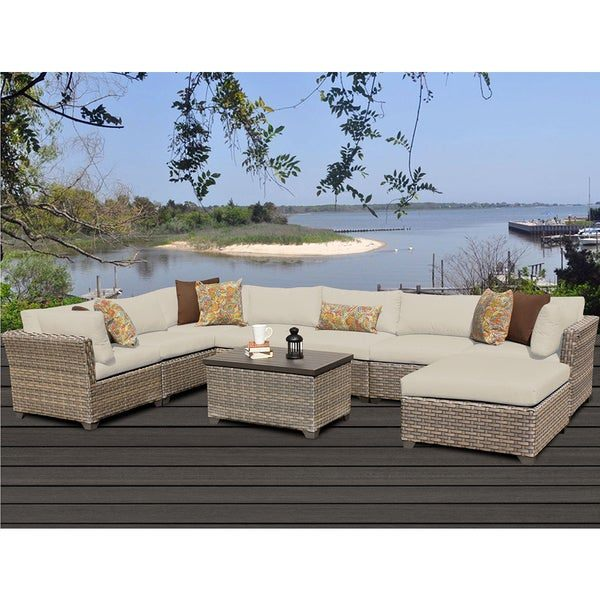 Furniture Monterey Wicker Outdoor Loveseat, Created for Macy's