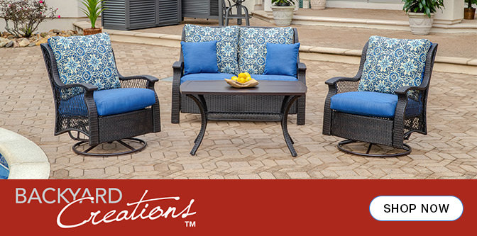 Some of the new items will even help make your patio more