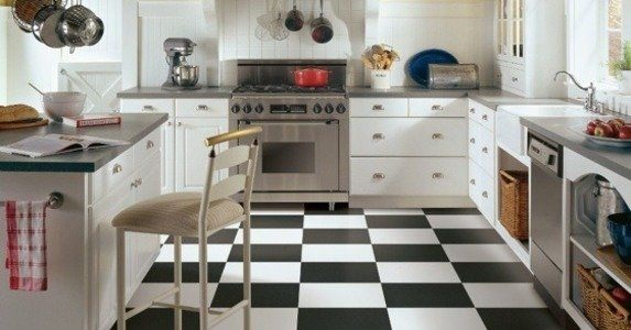 Rubber Kitchen Flooring