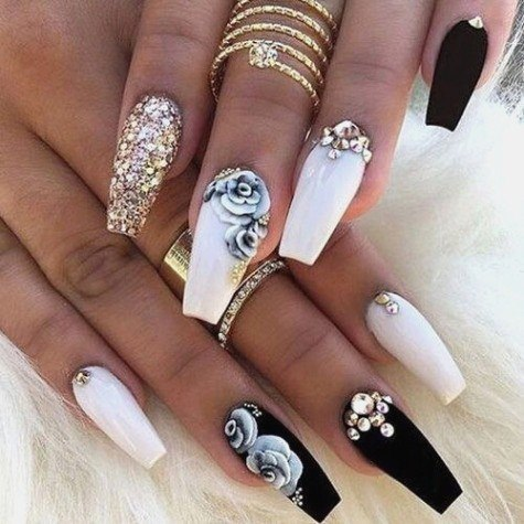 Unique gallery of best nail art designs of 2017 for any season