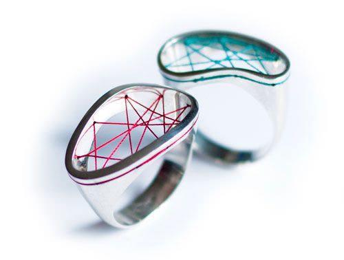 Unique designer jewelry: