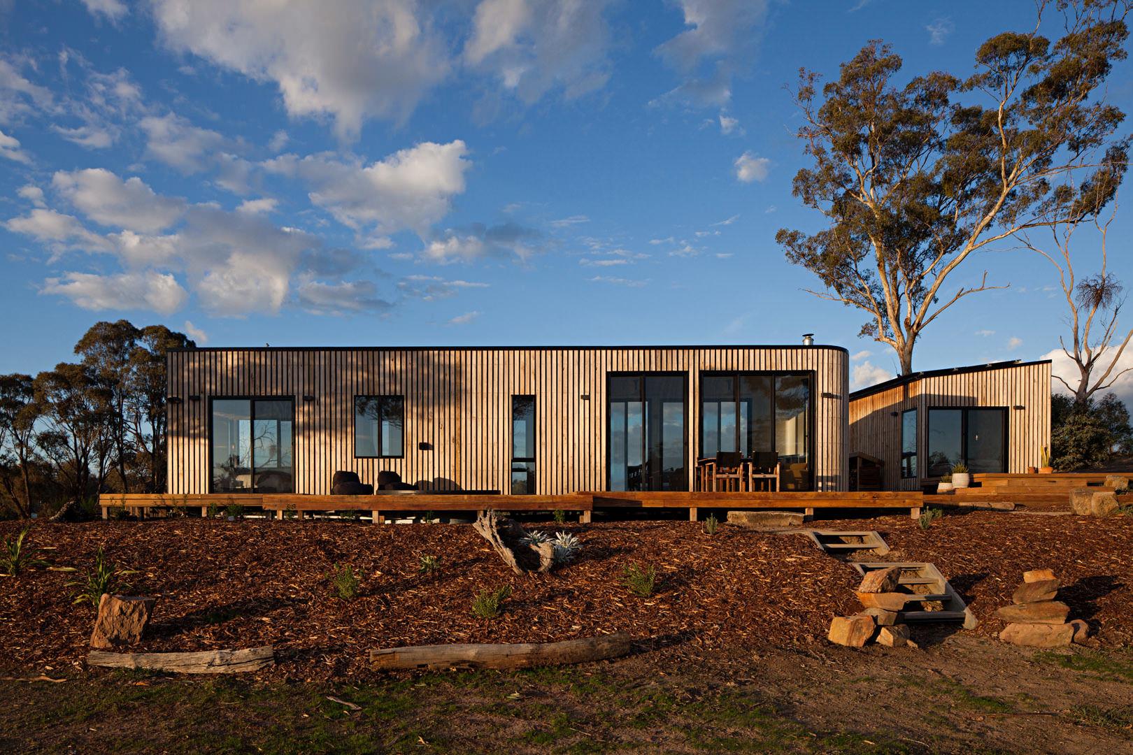 Modular home design by Adjaye Associates for Cube Haus