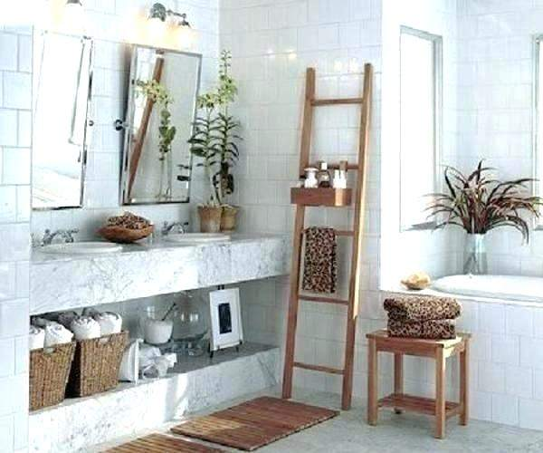 baskets for bathroom wall hanging wicker in mounted storage basket ideas towel bathrooms wedding pinterest