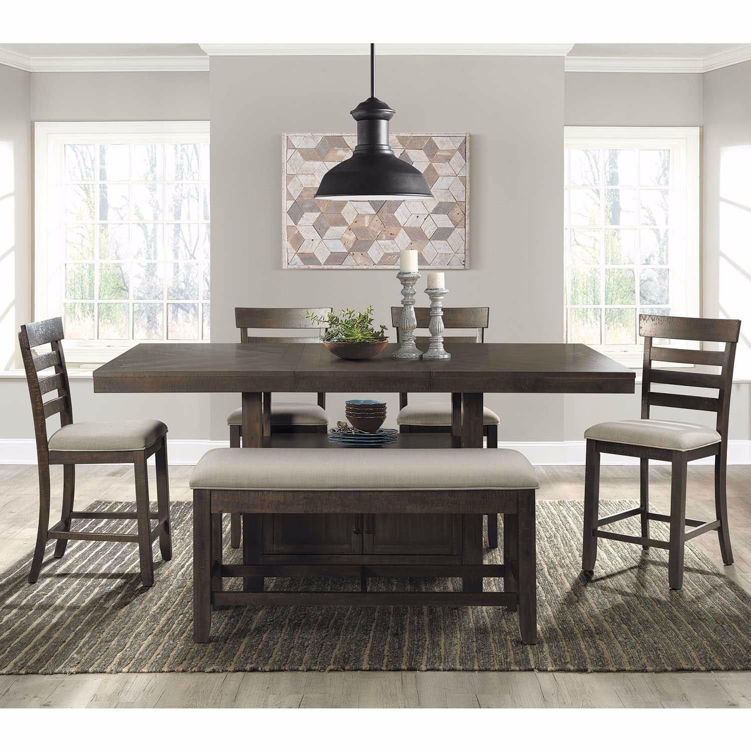 Steve Silver MarseilleMarble Top Counter Table