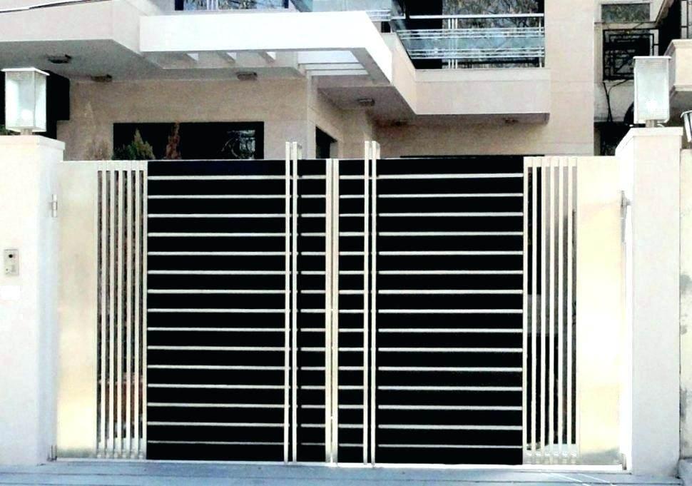 Metal Gatezzz, Modern Metal Gate, Modern Gates And Fences, Metal Entry, Gate Metal, Corrugated Metal, Metal Gate Design, Main Gate Design, Modern Gate