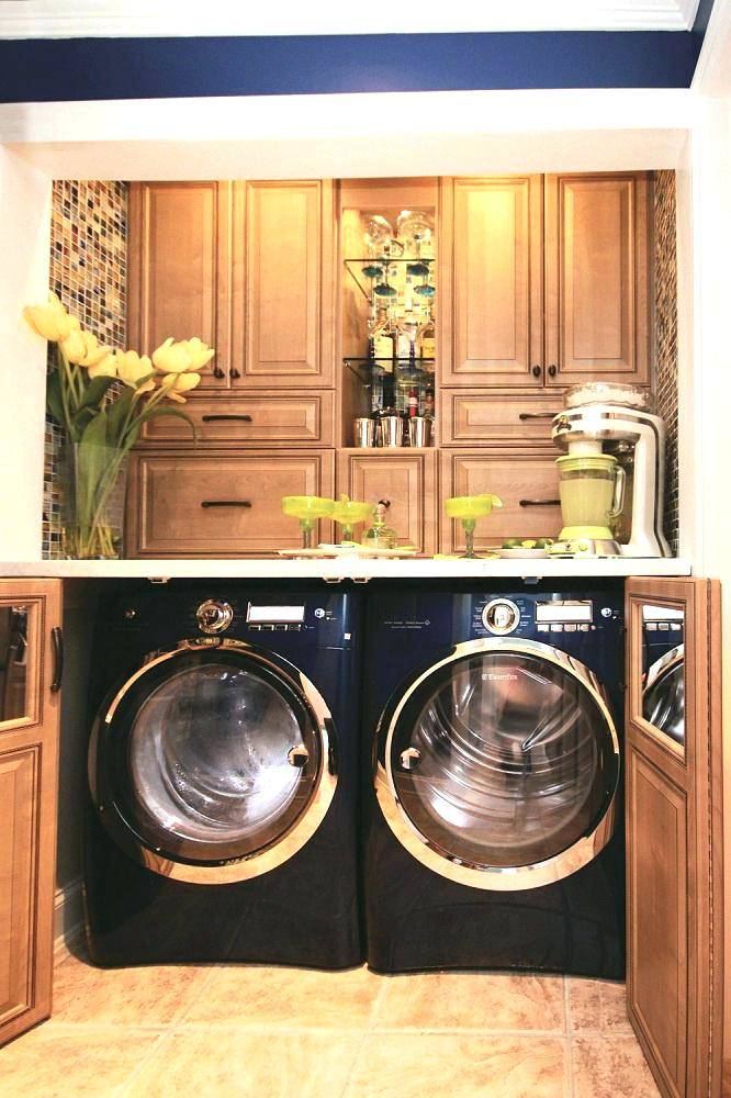 hide washer dryer in kitchen washer dryer in kitchen awesome laundry room  ideas stacked washer dryer
