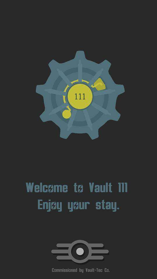 """I remember playing """"Fallout 3"""" and opening the vault door for the first time"""