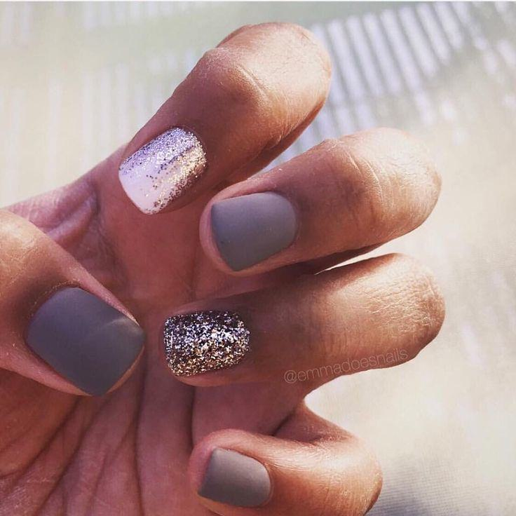 45 Glamorous Gel Nails Designs and Ideas to try in 2017