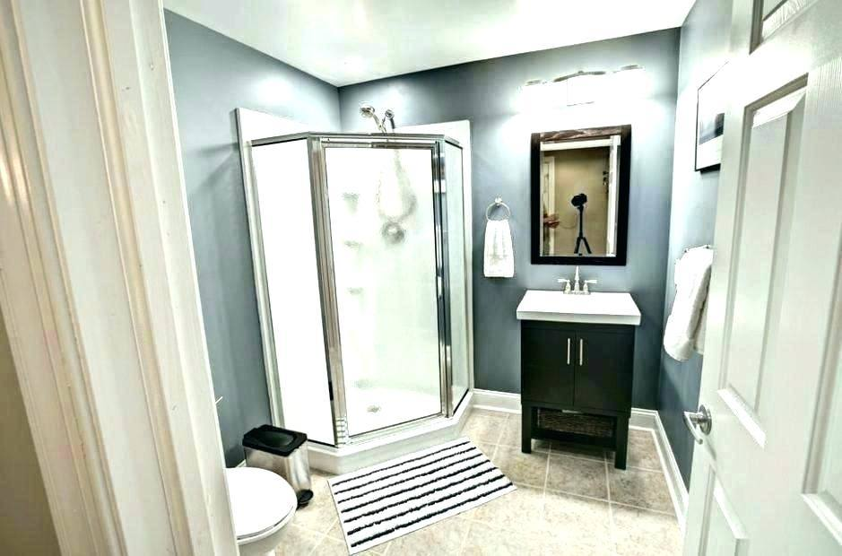 If your basement will serve primarily as a space for entertaining, you may  need only a powder room instead of a full bathroom