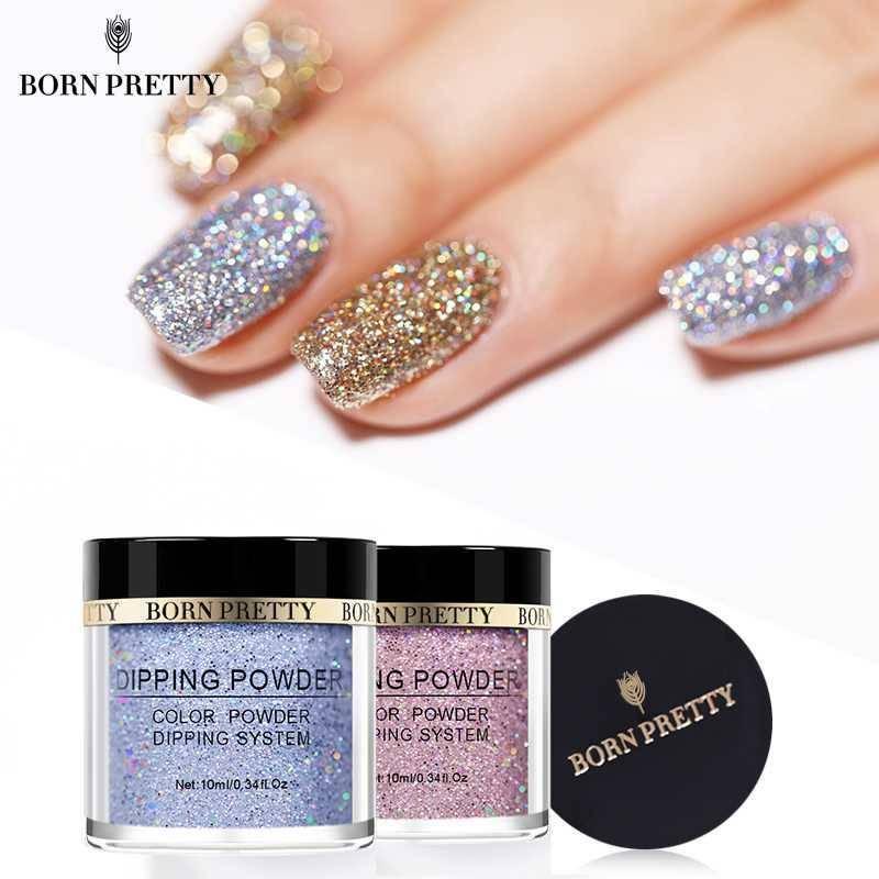 2017 New Mermaid Effect Nail Glitter Polish Sparkly Magic Glimmer Powder Dust DIY Nail Art Tip Decoration Tools Gel