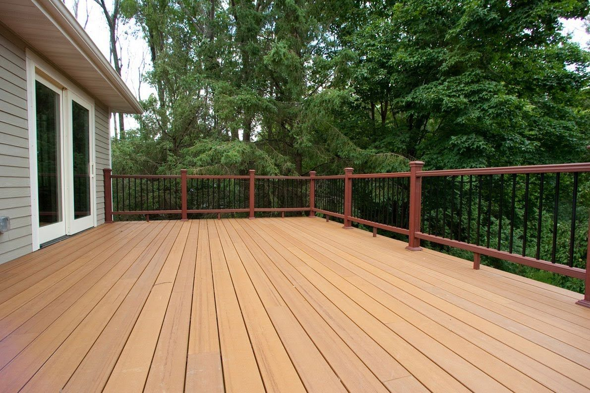 concrete deck footings precast porch steps and wrought iron railings piers premade
