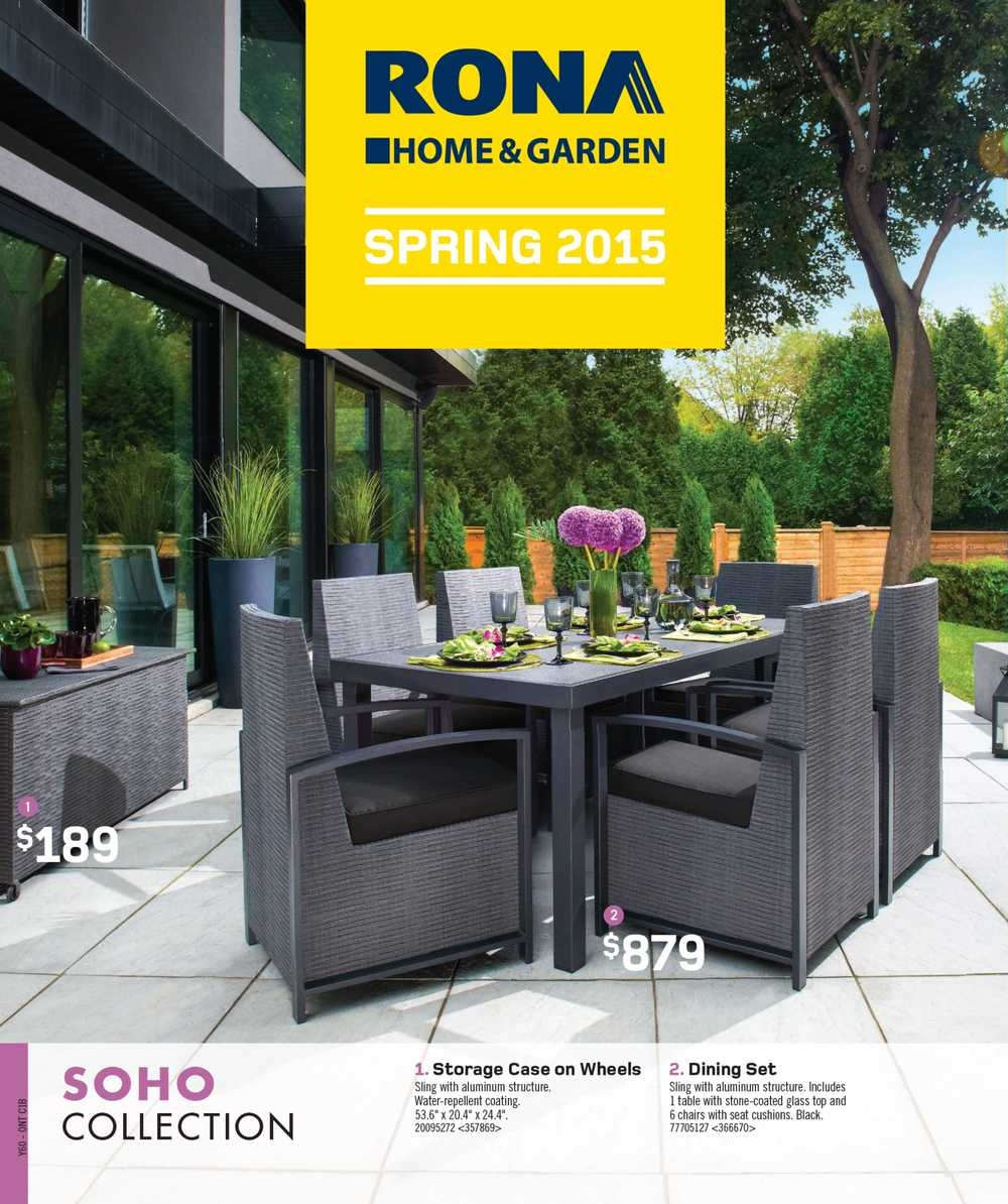 sectional patio dining set