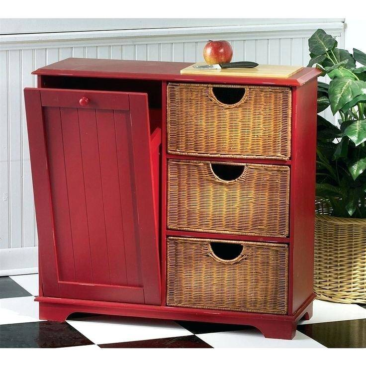 kitchen trash can storage candiceaccola fancy cabinet ideas about small  island with bin granite designs wooden