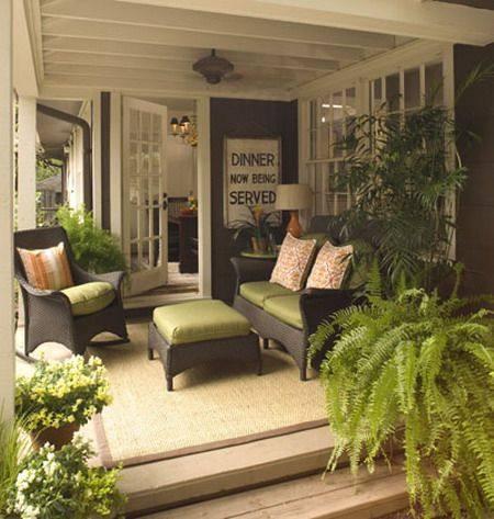 Screened In Porch Furniture Screen Ideas