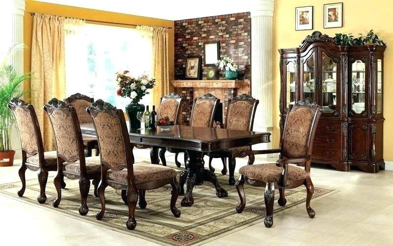 large Skempton Dining Room Table and Chairs (Set of 7), , rollover
