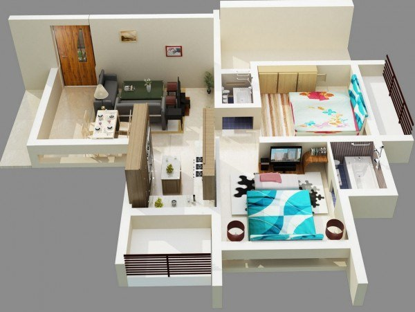 Floor Plan Image of Modi Properties Paramount Avenue