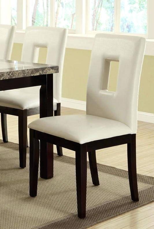 BRAND NEW Dining Suite 5 Piece with Pedestal Leg Table Round High Back Chairs