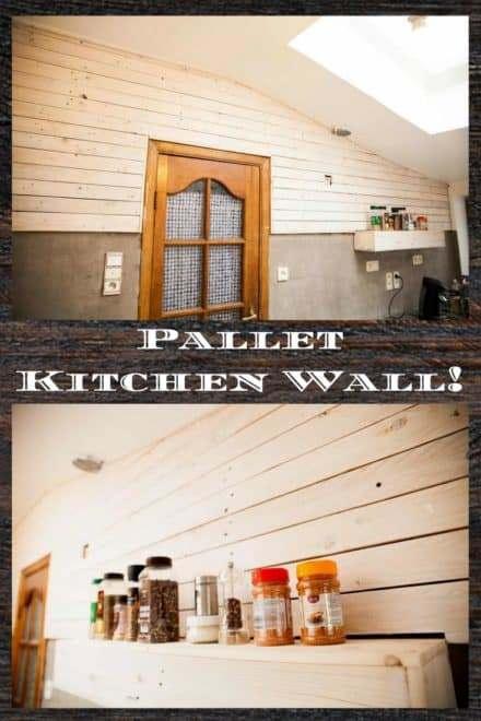 wooden pallet wall decor