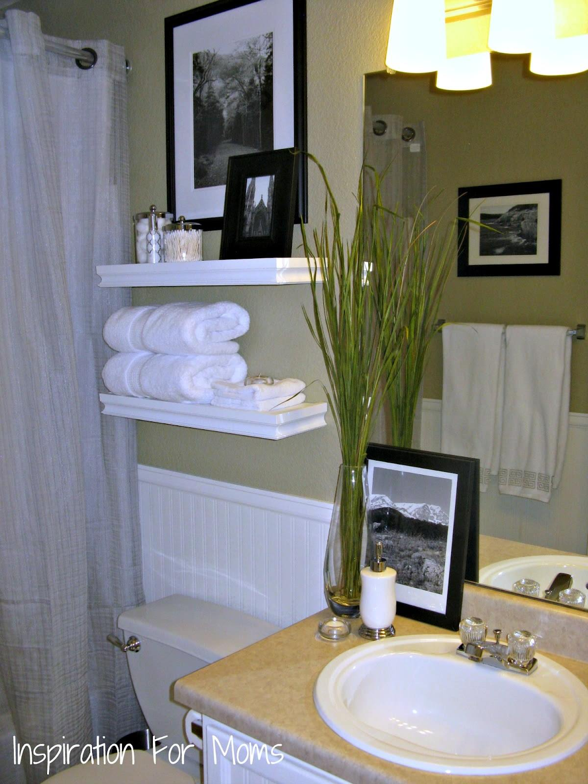 guest bathroom decor ideas small
