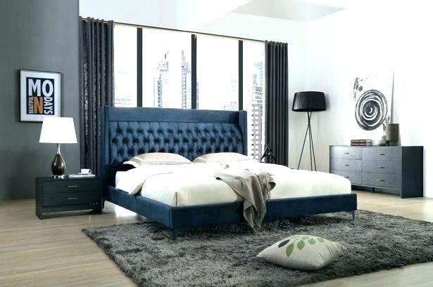 black modern bedroom furniture design gloss