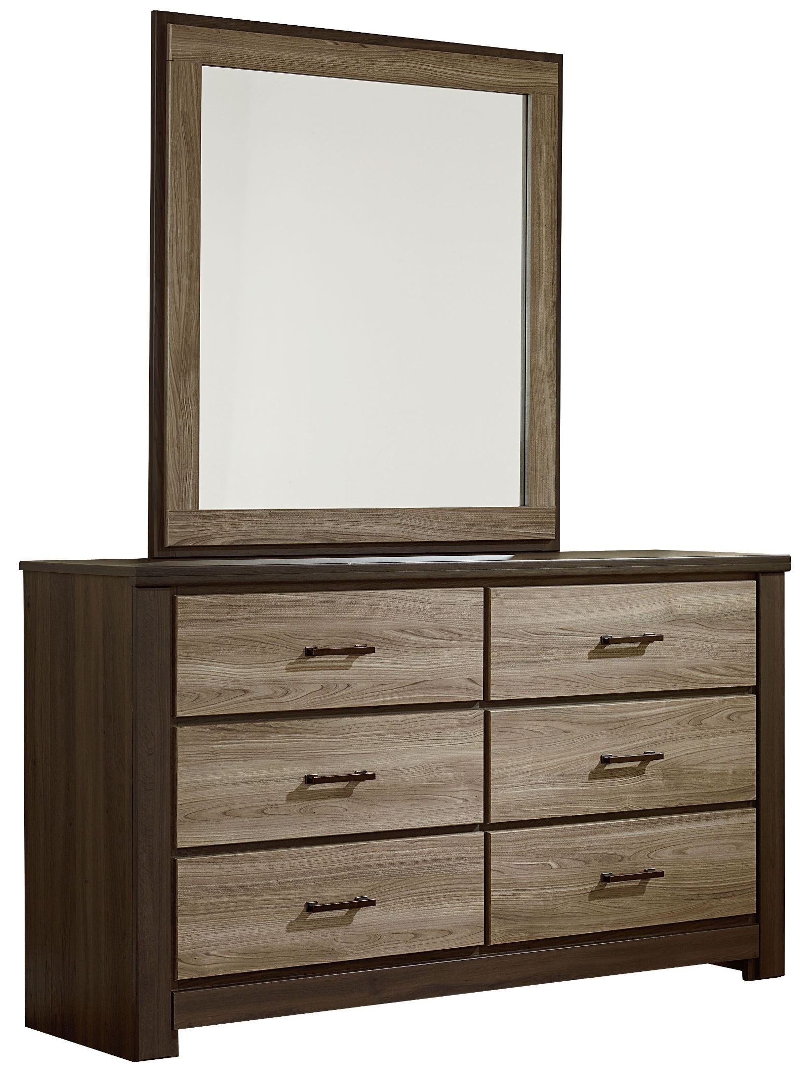 Kolding 2 Drawer Dressing Table Smoky Oak Effect