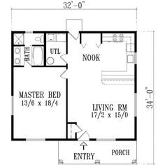 Full Size of Small 3 Bedroom Cottage Floor Plans 1 Cabin 2 Log One  Architectures Licious