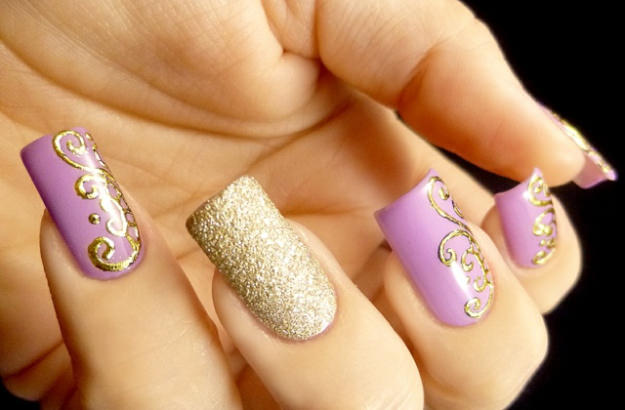 Latest Gel Nail Designs 2015
