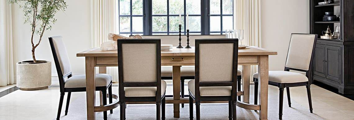 nate berkus furniture 7 piece rectangle  dining