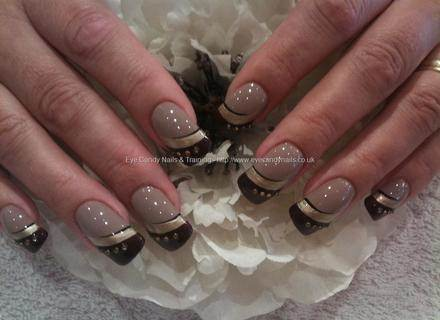 UR SUGAR LED UV Coffee Brown Color Series Gel Nail Polish Elegant Caramel Serie Soak Off