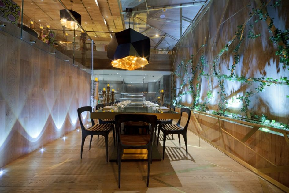 The Yuri private dining room can set up to 20 guests (18 with  audio/visual)
