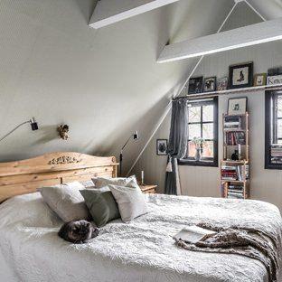 Scandinavian bedroom in Malmo