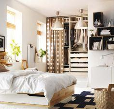 Budget bedroom wardrobe and storage ideas from IKEA