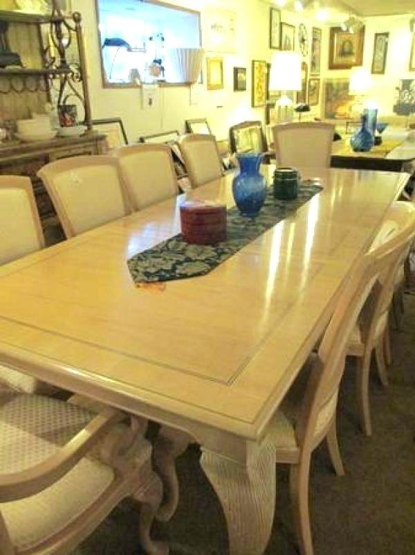 bernhardt dining table white wash dining table with 8 chairs vintage bernhardt  dining room set