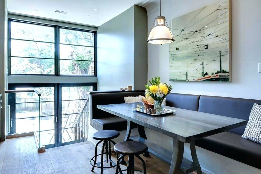 kitchen table with corner bench corner dining