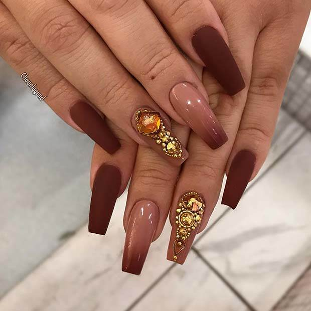 Detail Feedback Questions about UR SUGAR LED UV Coffee Brown Color Series Gel Nail Polish Elegant Caramel Serie Soak Off Nail Art 7