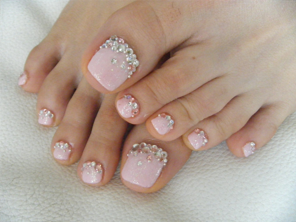 Gorgeous Toe Nail Design Ideas ☆ See more: #nails Pedicure Nails, Gel Toe