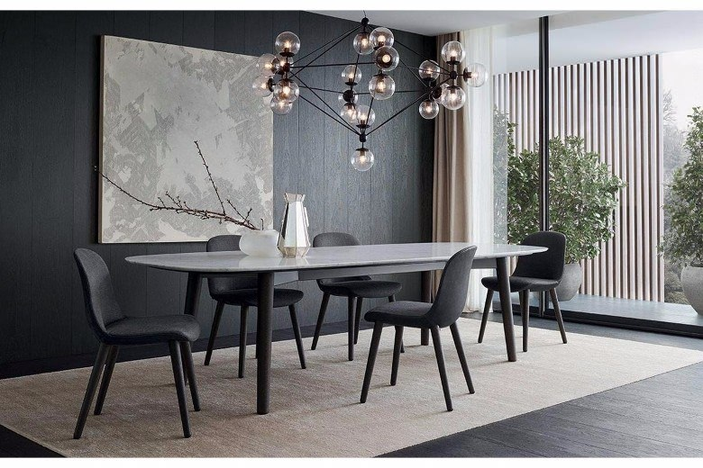 modern small dining table