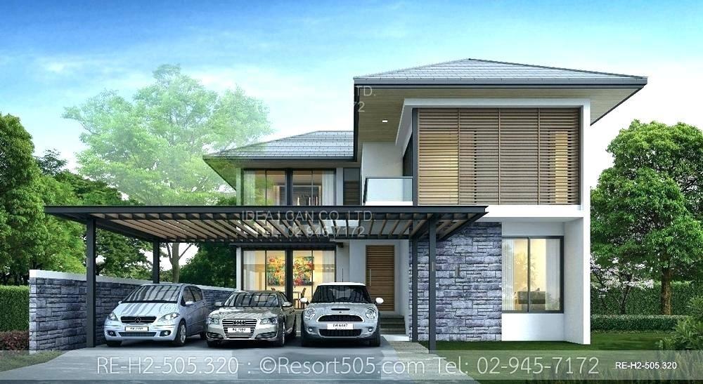 four story house design