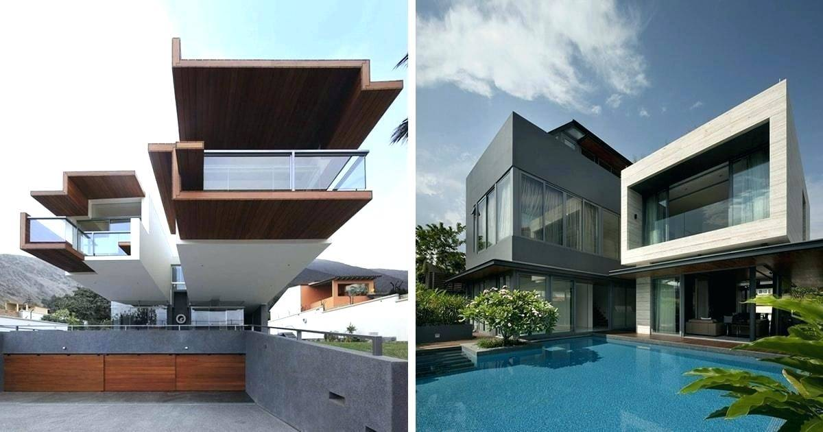 Awesome Contemporary Home Elevation Designs