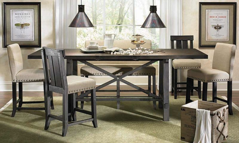 Rectangular Counter Height Dining Set  available at Logan Furniture serving Dorchester, MA