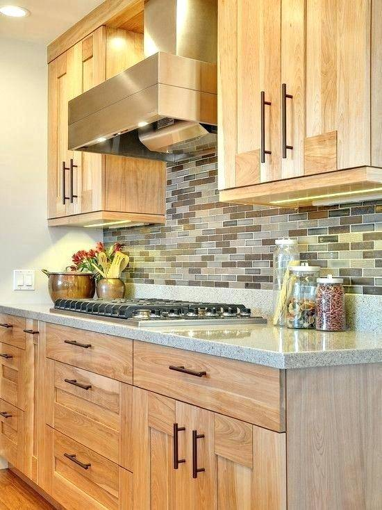 kitchen wall paint colors with light oak cabinets